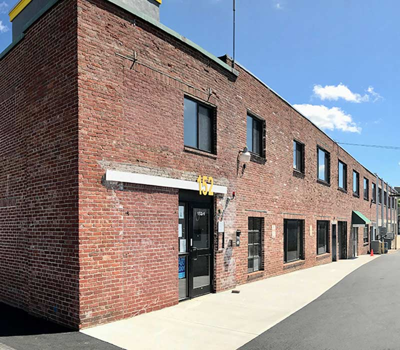 Factory 152 Brick Building